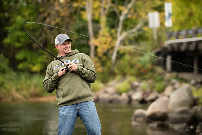 Handcrafted in North America fishing, fishing rods Fishing & Boating News