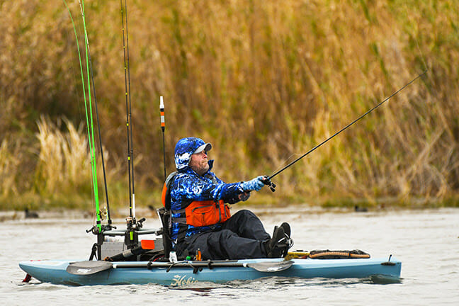 CHILLY TEMPERATURES TO TEST KAYAK FISHING ELITE bass fishing, fishing Fishing & Boating News