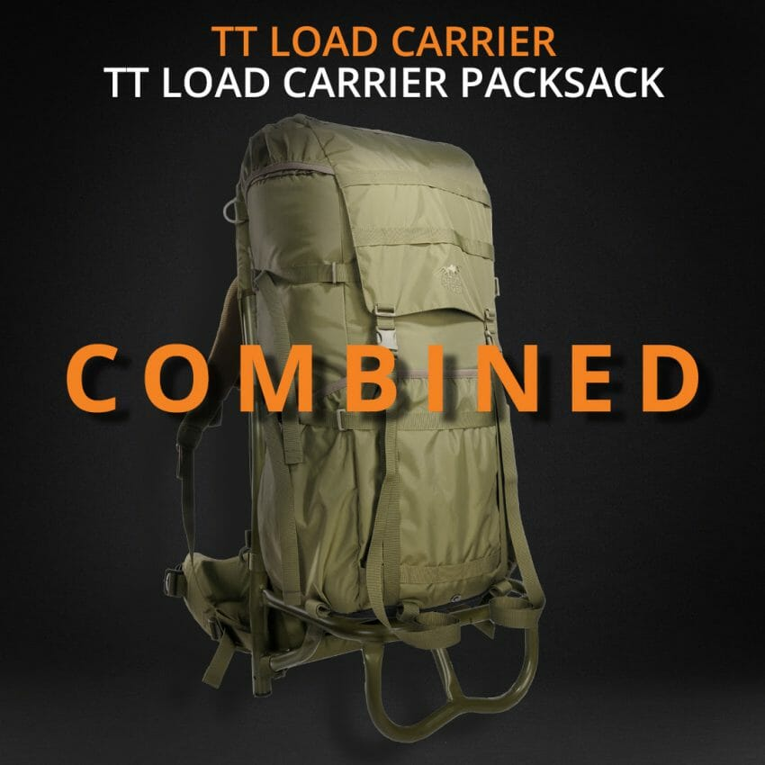 The TT Load Carrier and Packsack from Tasmanian Tiger backpacks Outdoors News