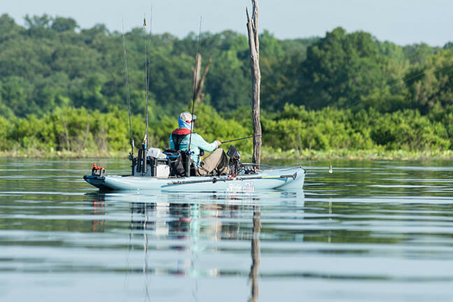 2021 Hobie® B.O.S. Series Anchored by Power-Pole® Is Ready to Roll bass fishing Fishing & Boating News