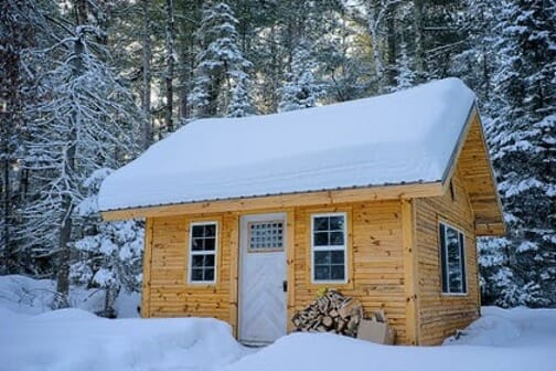 Building Your Log Cabin in the Woods the Old Fashioned Way great outdoors, woods Outdoors