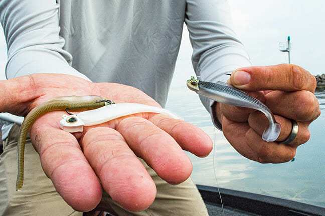 """Jeff """"Gussy"""" Gustafson's Go-To Jig and ElaZtech® Tricks fishing, fishing lures Fishing & Boating News"""