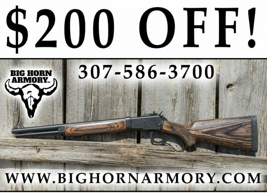 Big Horn Armory Offering Special Deal on Spike Driver™ this March firearms Firearms News