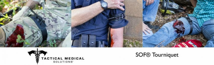 Tactical Medical Solutions (TacMed) Introduces new SOF Tourniquet outdoor survival Outdoors News