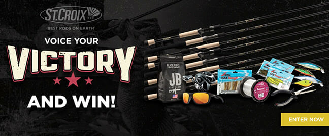 Here's Your Chance to Win the New St. Croix Victory Rod Everyone's Talking About fishing, fishing rods Fishing & Boating News