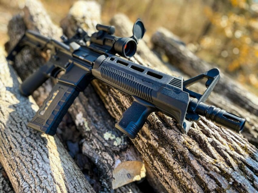 MFT Introduces the React M-LOK Compact Foregrip firearm accessories Firearms News