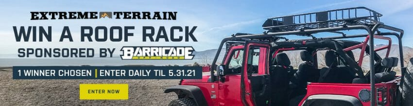 ExtremeTerrain's #Jeep Roof Rack Sweeps | $500 Value jeep giveaway Automotive News