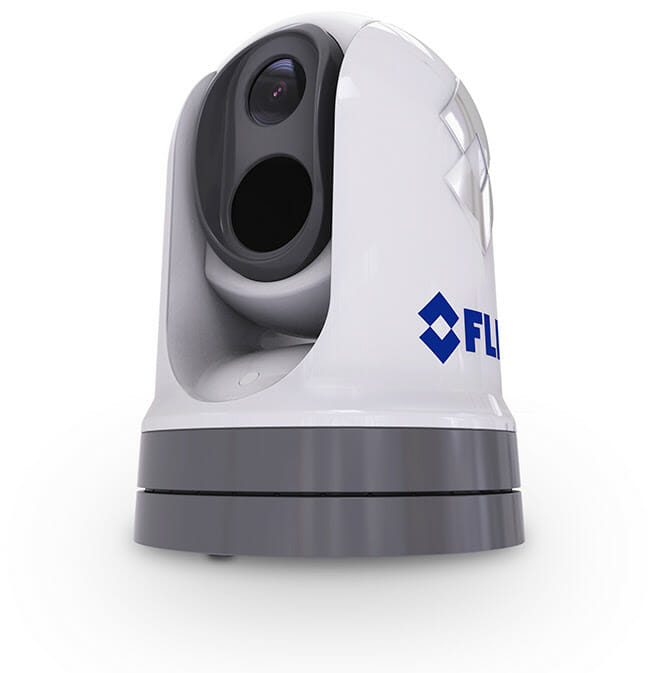 On the Water with the FLIR M364C boating, boating electronics Fishing & Boating News