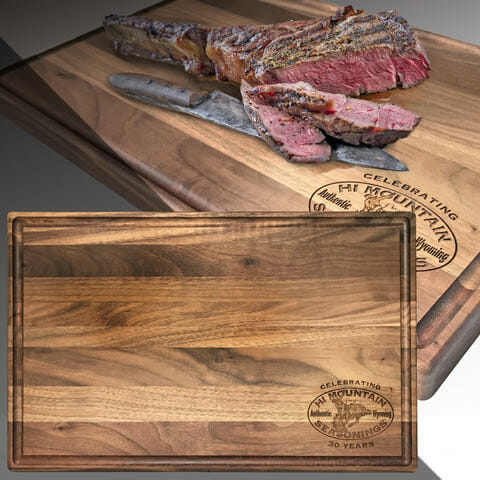 Limited Edition Cutting Board from Hi Mountain Seasonings outdoor cooking Outdoors News